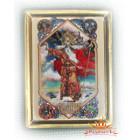 Магнит в «золотой» рамке Сварог