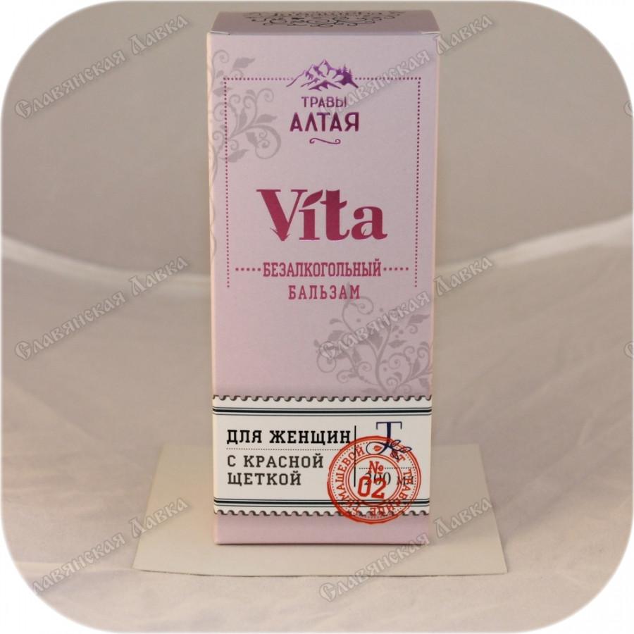 Бальзам Vita для женщин (с красной щеткой)