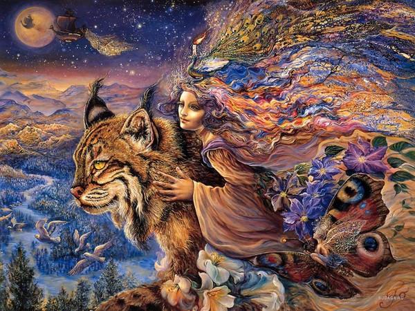 Рысь в мифологии