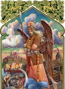 Божество древних славян — Радогост Radegast-221x300